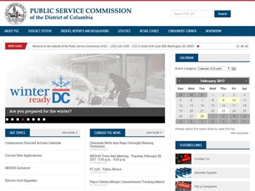 Public Service Commission of the District of Columbia
