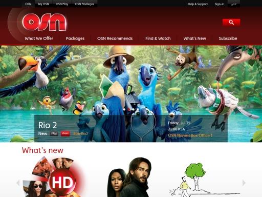 OSN website