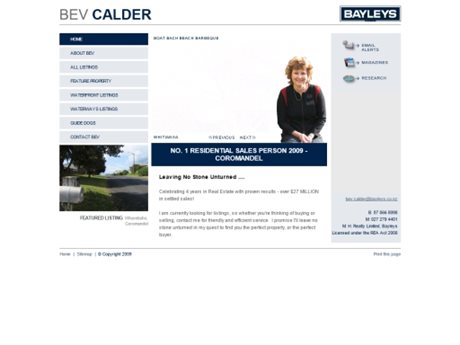 Bayleys Real Estate - Agent Websites
