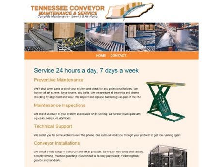 Tennessee Conveyor Maintenance & Service