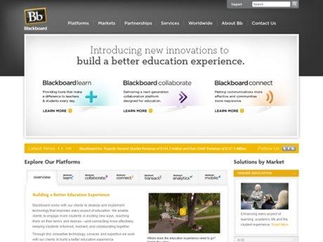 Blackboard Corporate Site