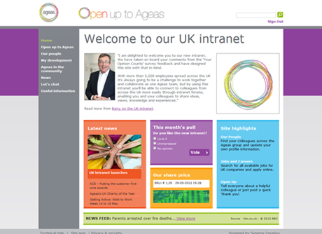 Ageas UK Intranet