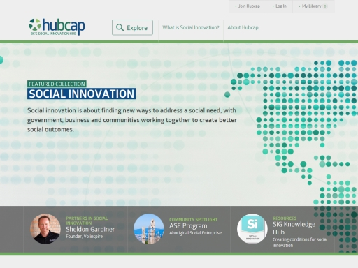 Hubcap, BC's Social Innovation Hub