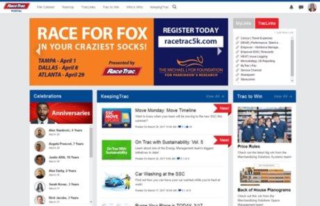 RaceTrac Portal