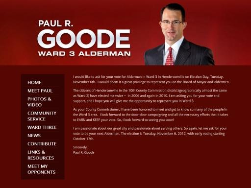 Paul R. Goode