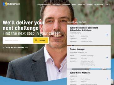 MiddlePoint website