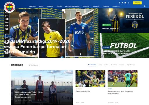 Fenerbahce Sports Club Website