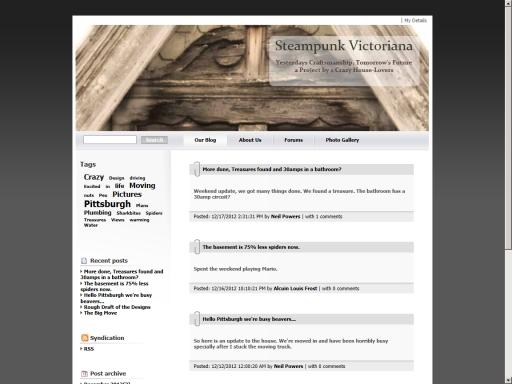 SteamPunk Victoriana