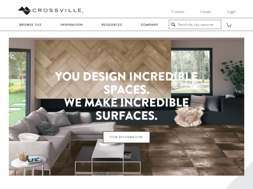 Crossville Tile Website