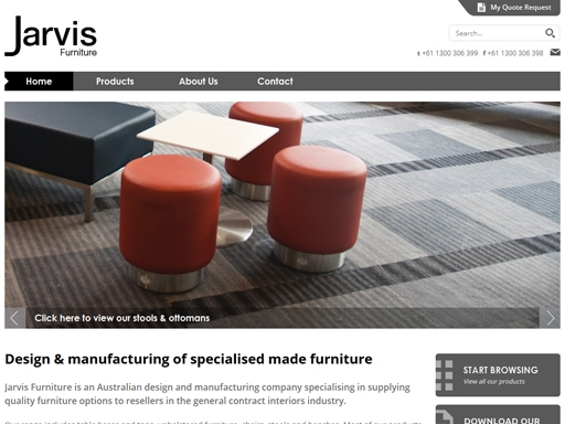Nice Jarvis Furniture. Project Reference Image