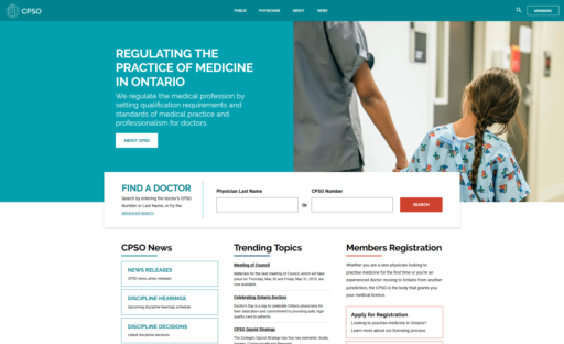 College of Physicians and Surgeons Ontario