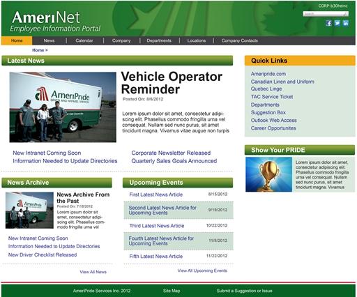 AmeriPride Services - AmeriNet Employee Portal