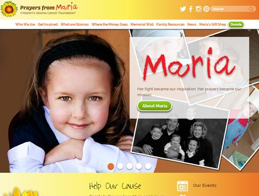 Prayers From Maria: Children's Glioma Foundation