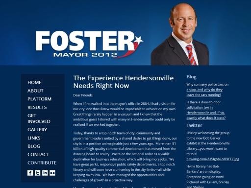 Foster Mayor