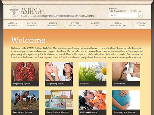 CEMM Library Asthma Health