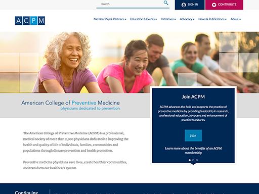 American College of Preventive Medicine (ACPM)
