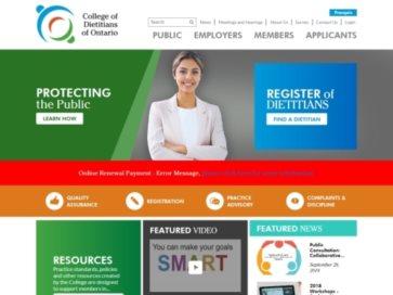 College of Dietitians of Ontario