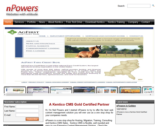 nPowers Kentico Consulting