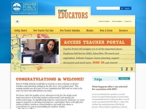 Denver Public Schools - New Educators