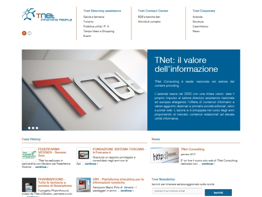 T-Net Consulting, Informing People