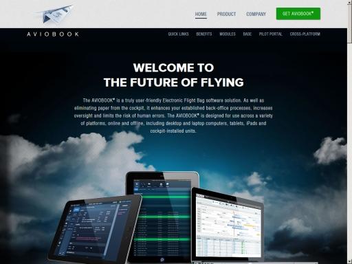 Aviobook Website