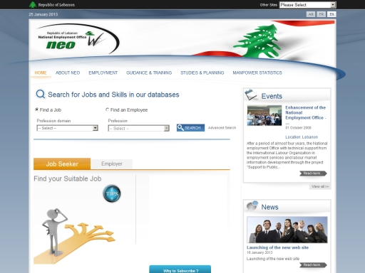 National Employment Office (NEO) in Lebanon