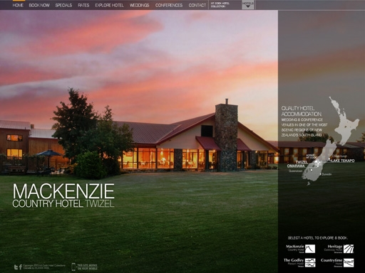 Mount Cook Hotels