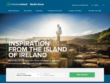 Tourism Ireland Media Room