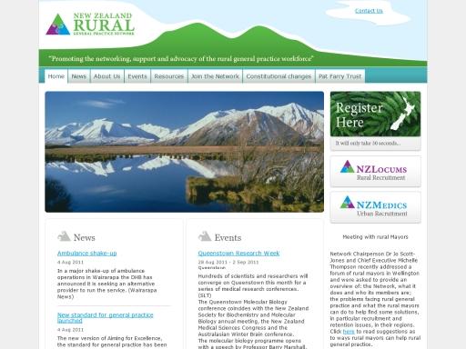 New Zealand Rural General Practice Network